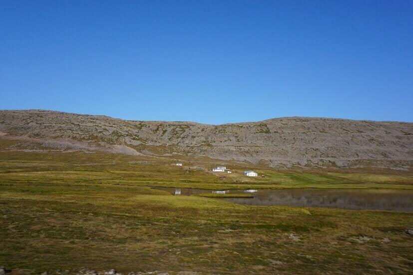 Landschaft Westfjorde