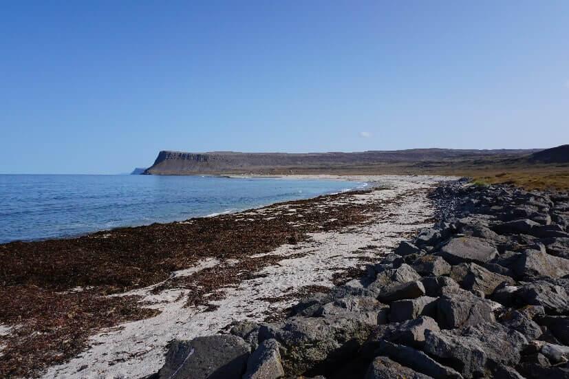 Strand bei Latrabjarg