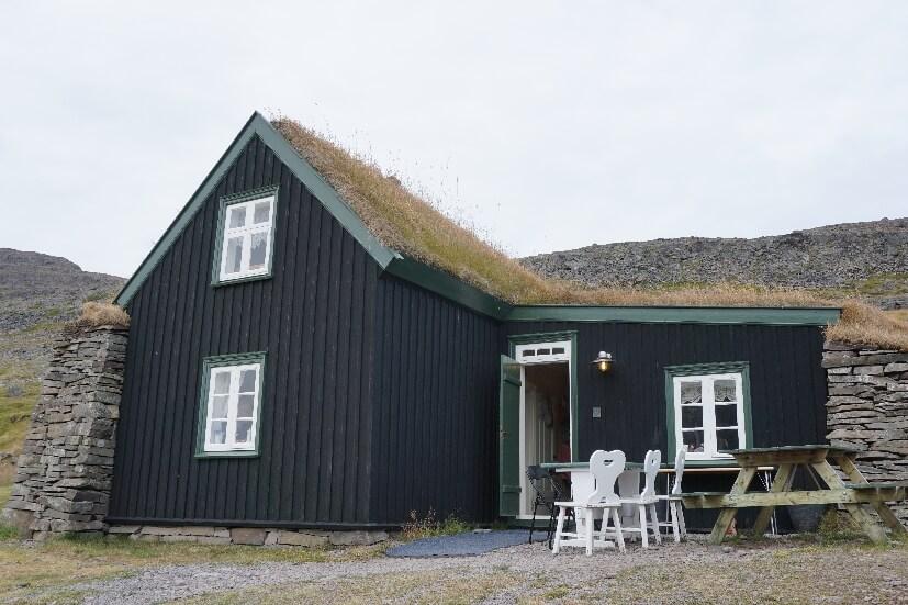 Kaffeehaus Westfjorde Island