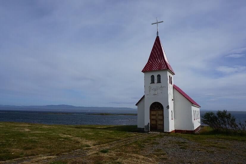 Kirche Westfjorde