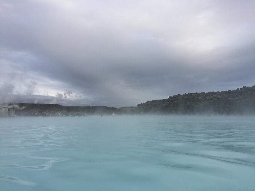 blaue Lagune Island