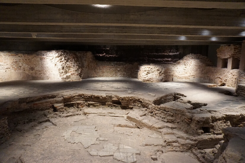 archäologischer Bereich - Mailänder Dom Besichtigung