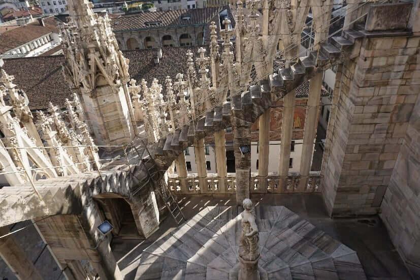 Dach Dom Mailand