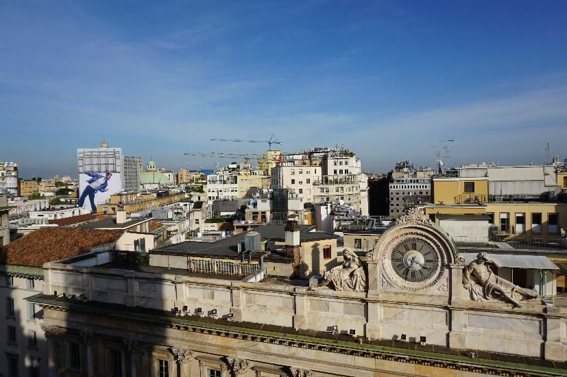 Blick über Mailand