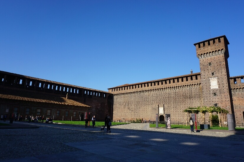 Sforzesco Burg