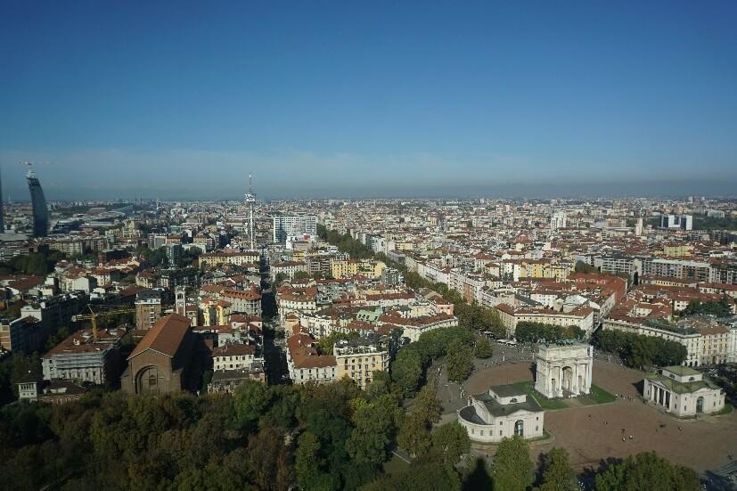Mailand von oben - Mailand Sehenswürdigkeiten