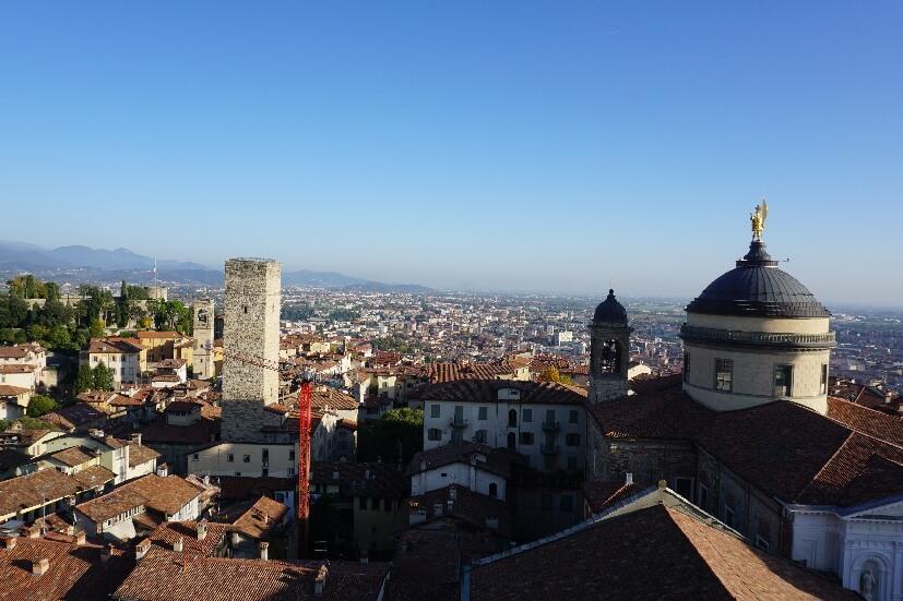 Bergamo Sehenswürdigkeiten: Glockenturm