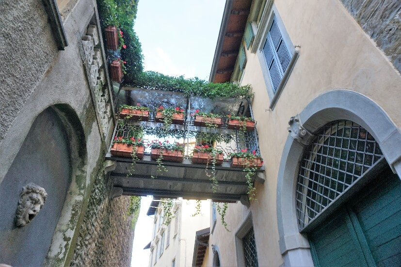 Gasse in Bergamo
