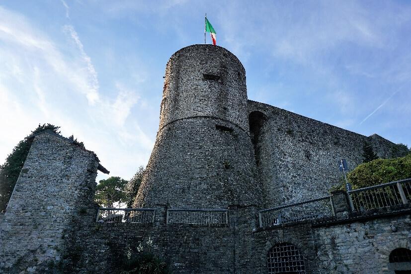 Rocca Burg - Bergamo Sehenswürdigkeiten
