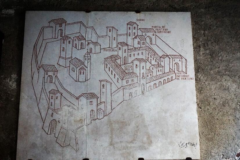 historische Altstadt Bergamo