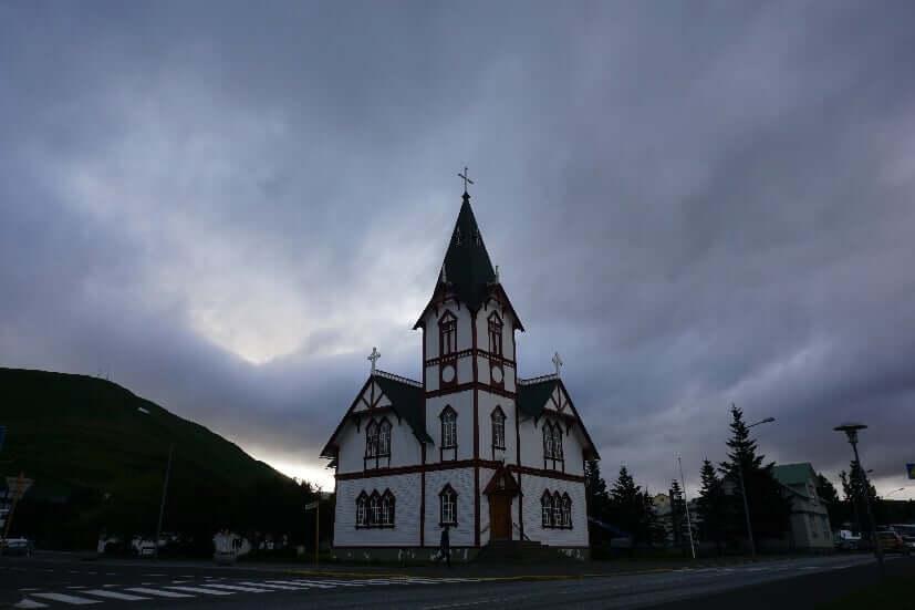 Kirche in Husavik