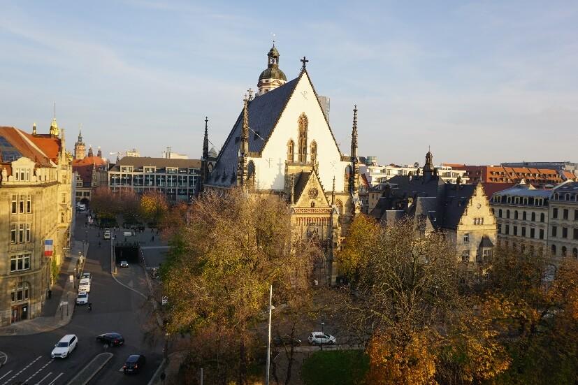 Thomaskirche Auftakt Reiseblogger Camp