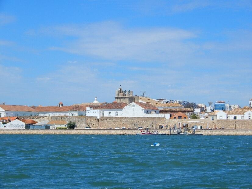 Blick auf Faro