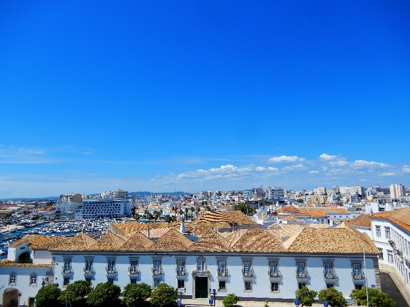 Blick über Faro