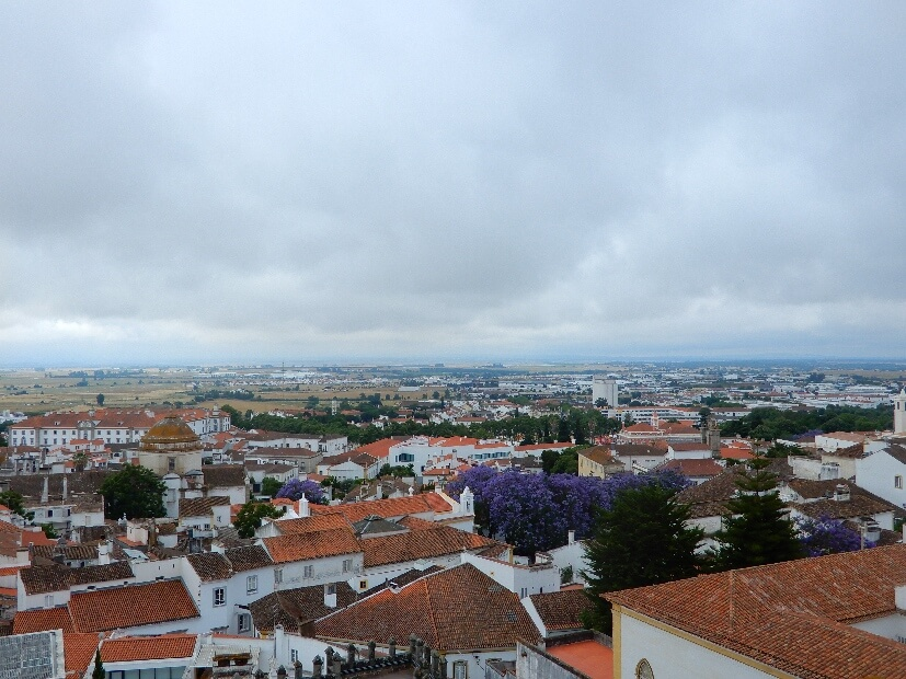 Aussicht über Evora