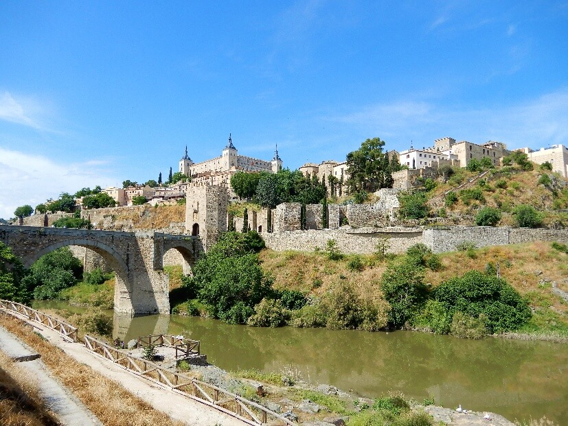 Toledo Sehenswürdigkeiten - Brücke