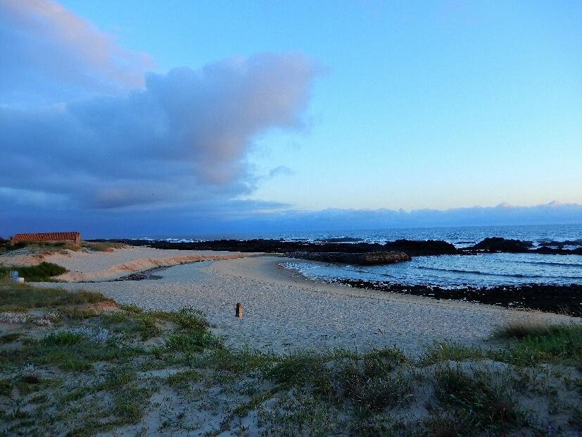 Campen nahe vom Strand