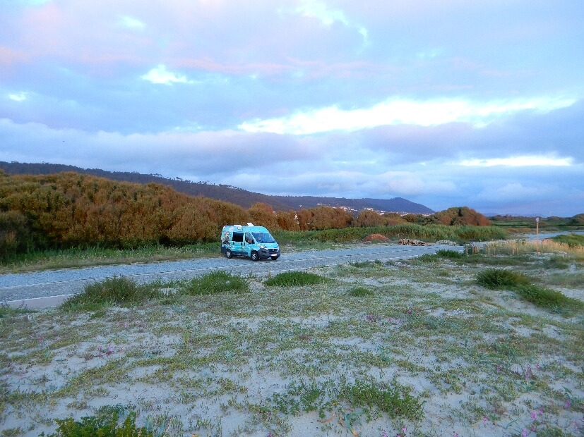 Camping in Portugal am Strand