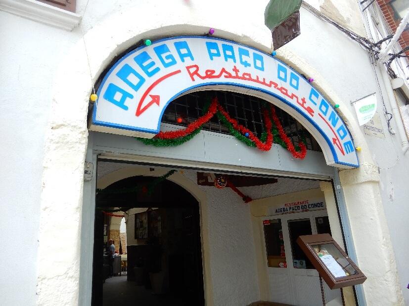 Restaurant in Coimbra Adega Paco do Conde