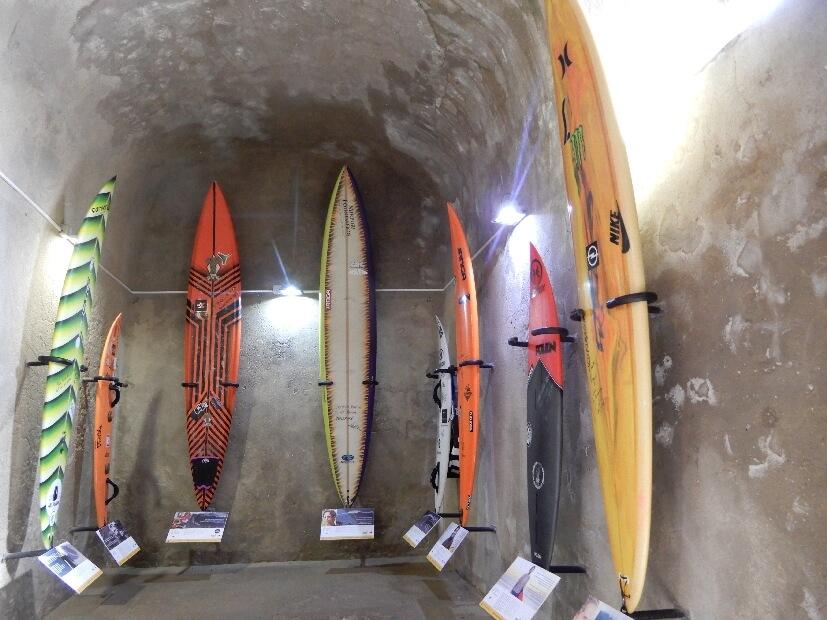 Surfboard Ausstellung