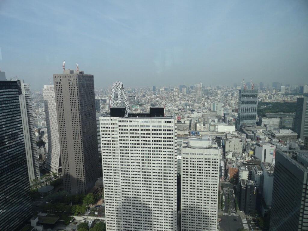 Blick über Tokio