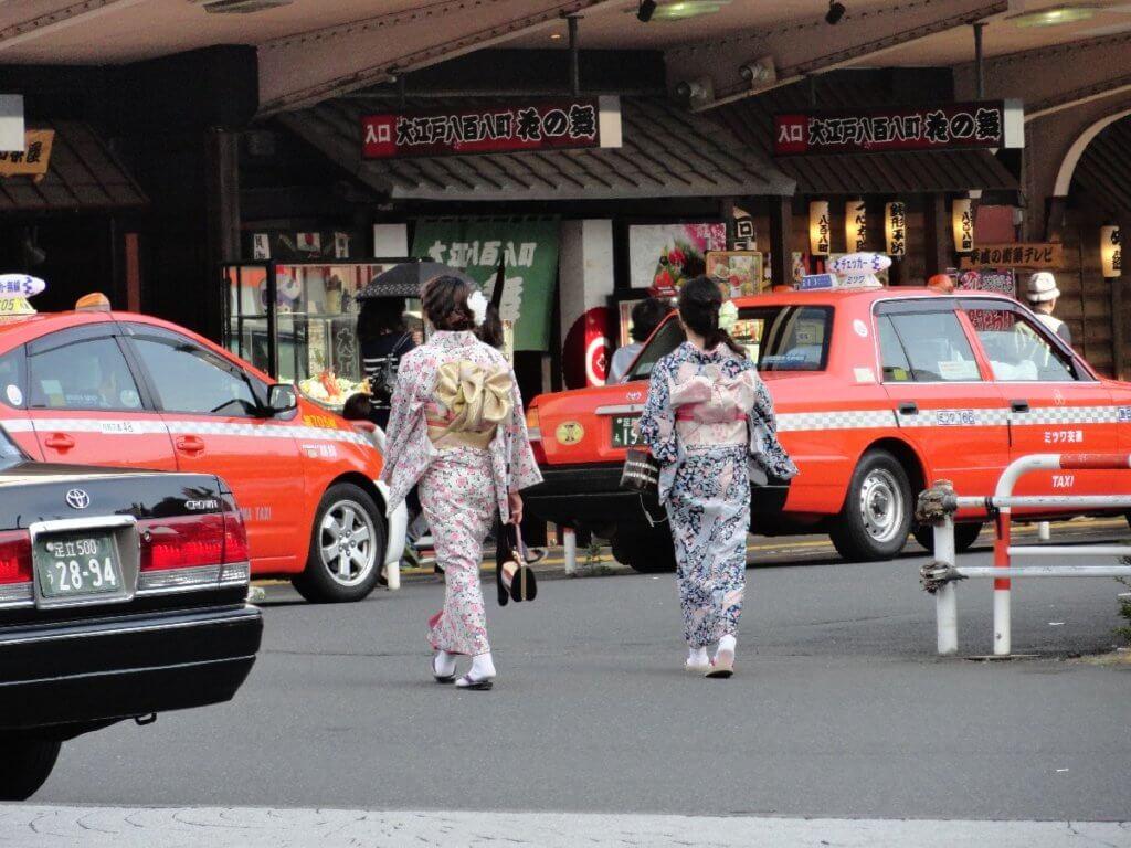 Tokio Straßenszene