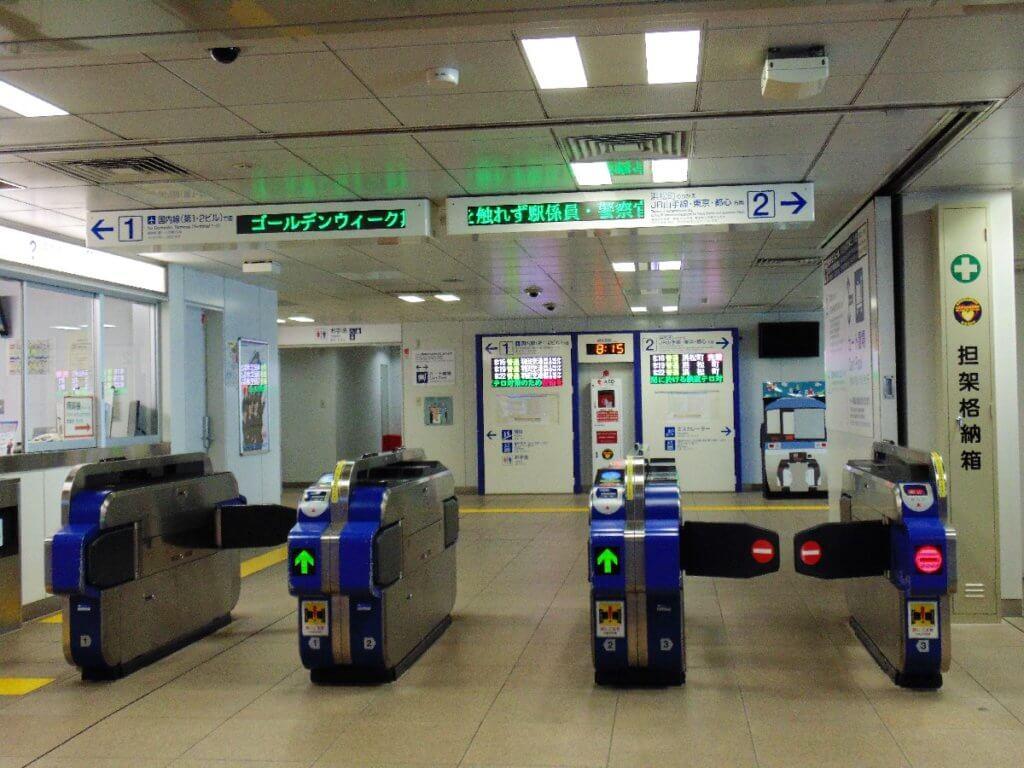 Ticketgate und Ticketschalter