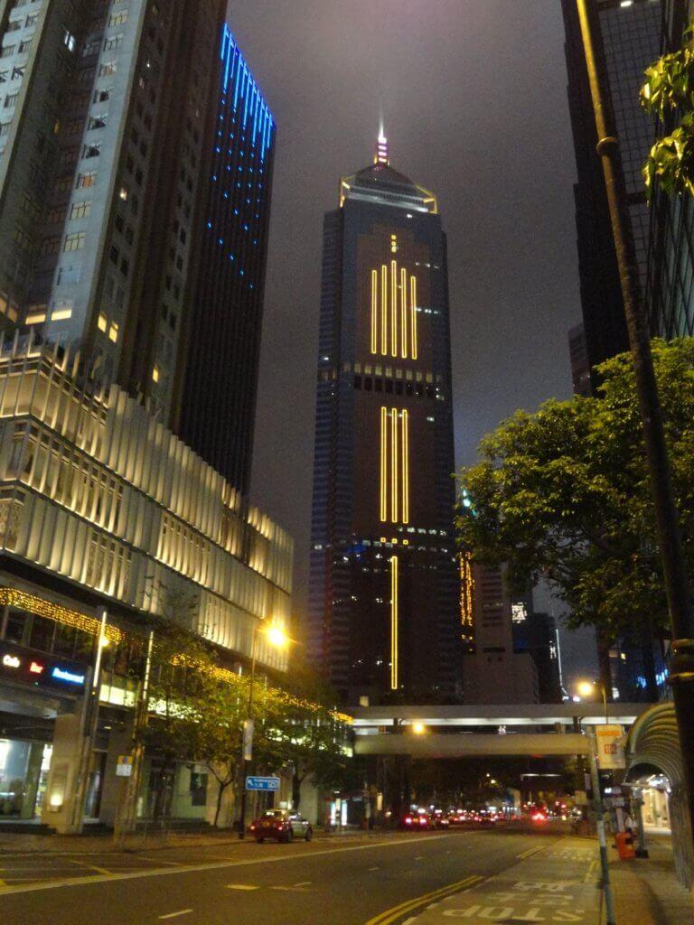 Lichter in Hongkong