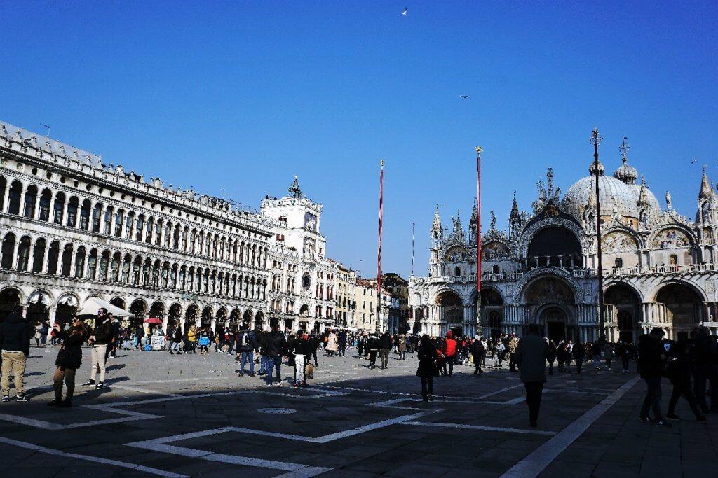 Markusplatz Venedig
