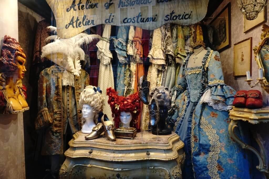 Kostüme Atelier in San Polo