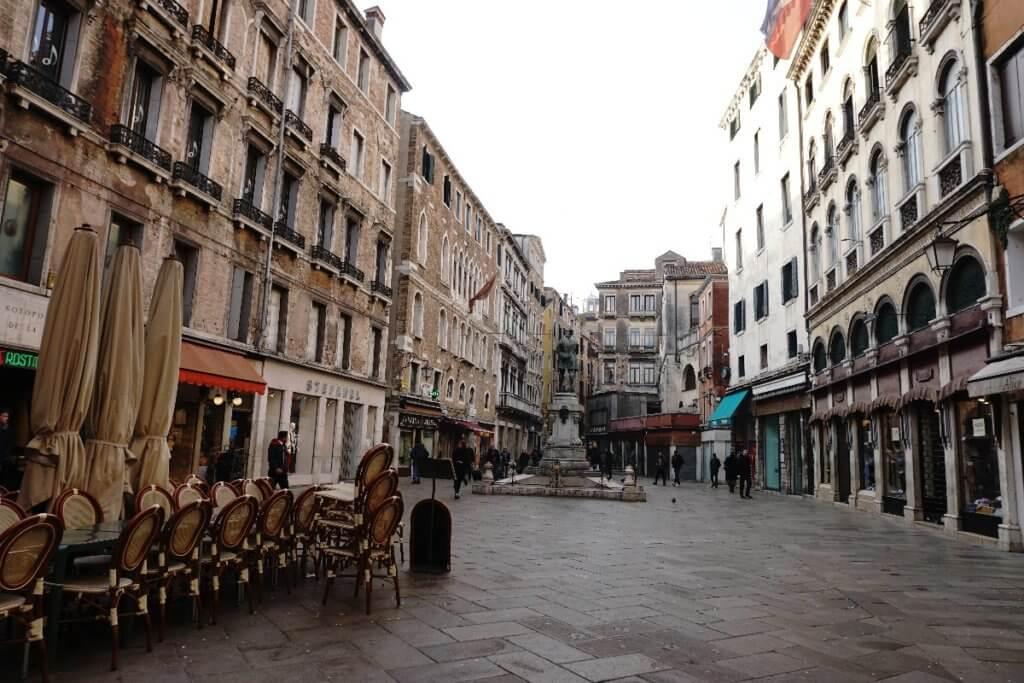 lerrer Platz in Venedig