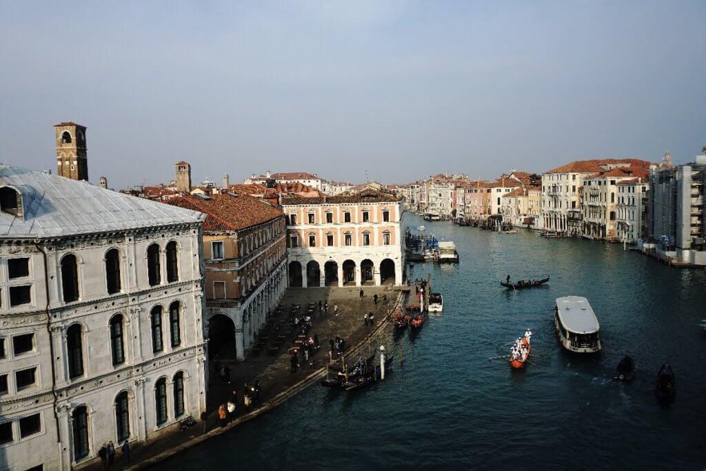 Aussicht Kaufhaus Venedig