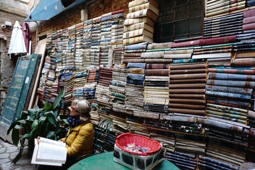 Buchladen Venedig