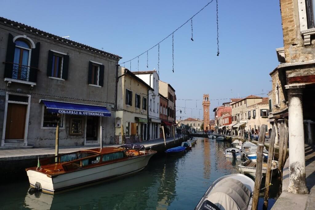 Boote in Murano