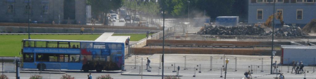 Bus Stadtrundfahrt Tourist in der eigenen Stadt
