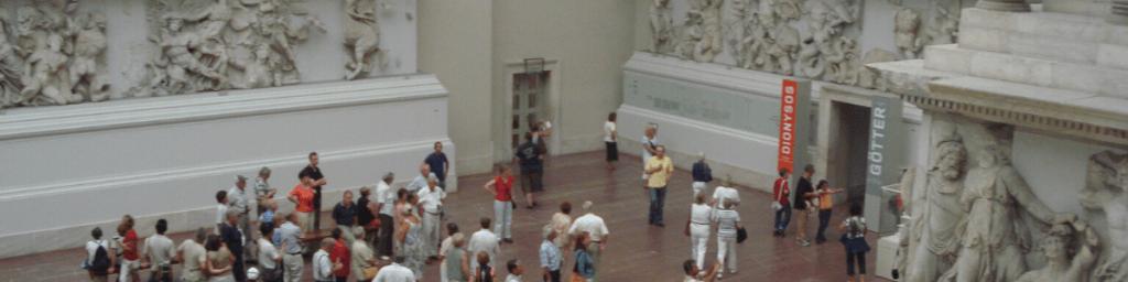 Pergamonmuseum Berlin Tourist in der eigenen Stadt