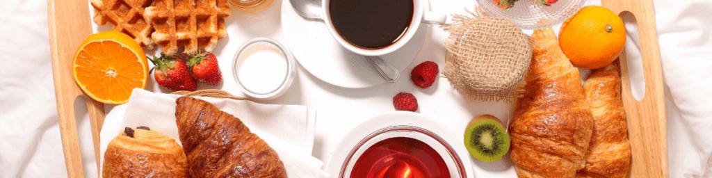 Frühstück bei Staycation