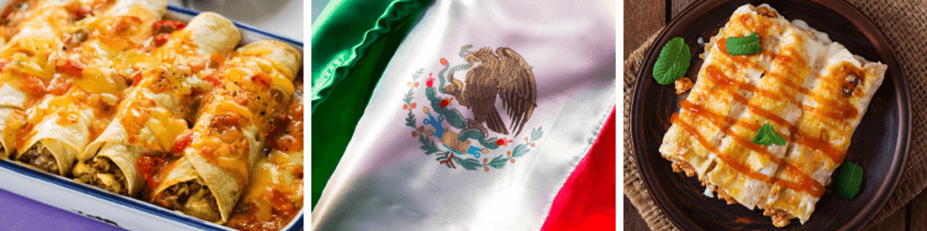 Enchiladas kulinarische Weltreise nach Mexiko