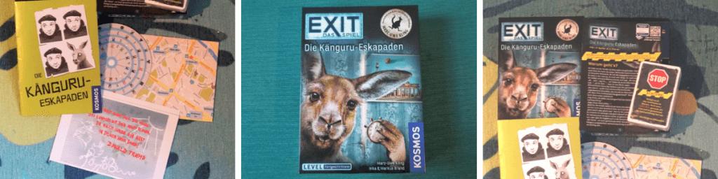 Escape Room Spiel für Zuhause: die Känguru-Eskapaden