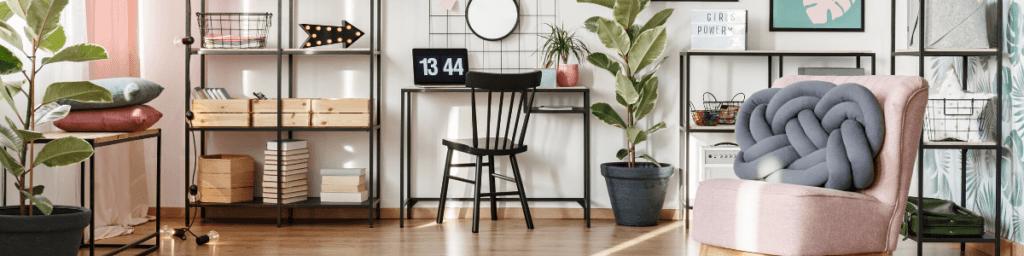 Stuhl von zu Hause arbeiten