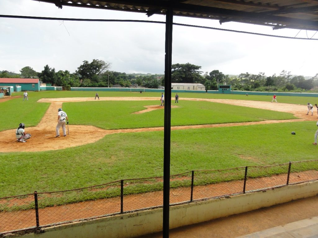 Baseball in Vinales