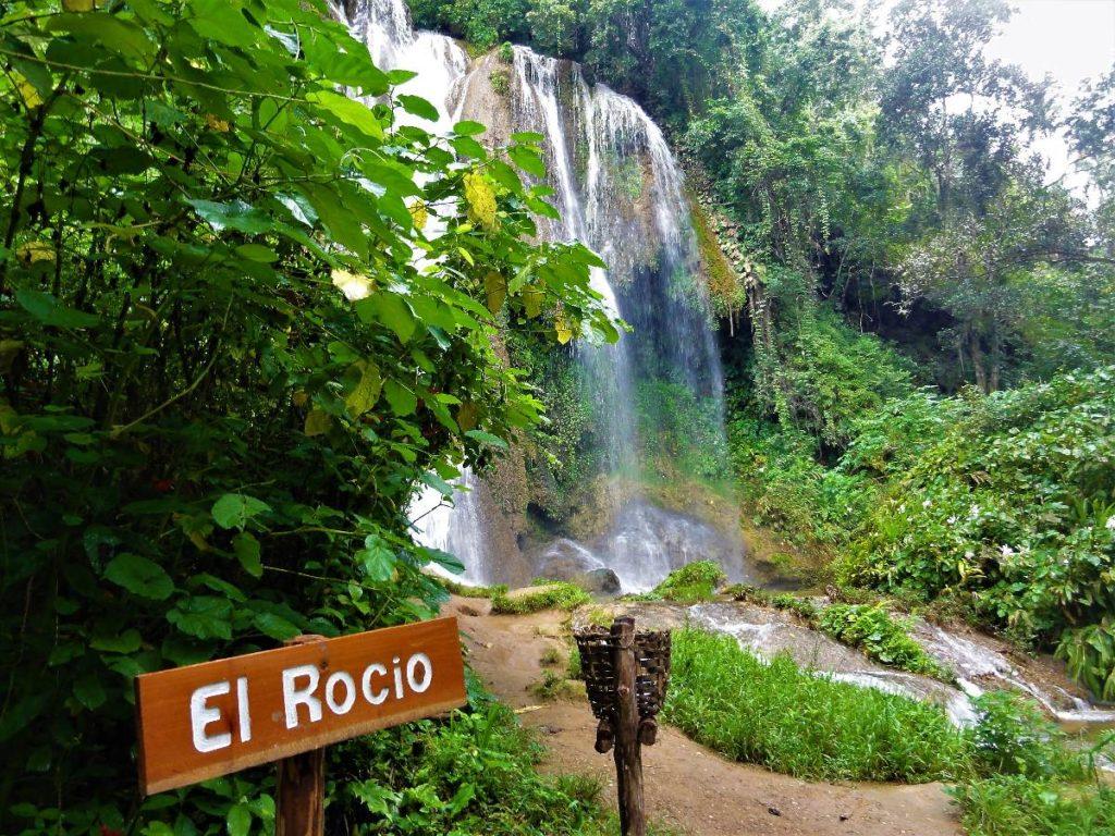 El Rocio Wasserfall Kuba