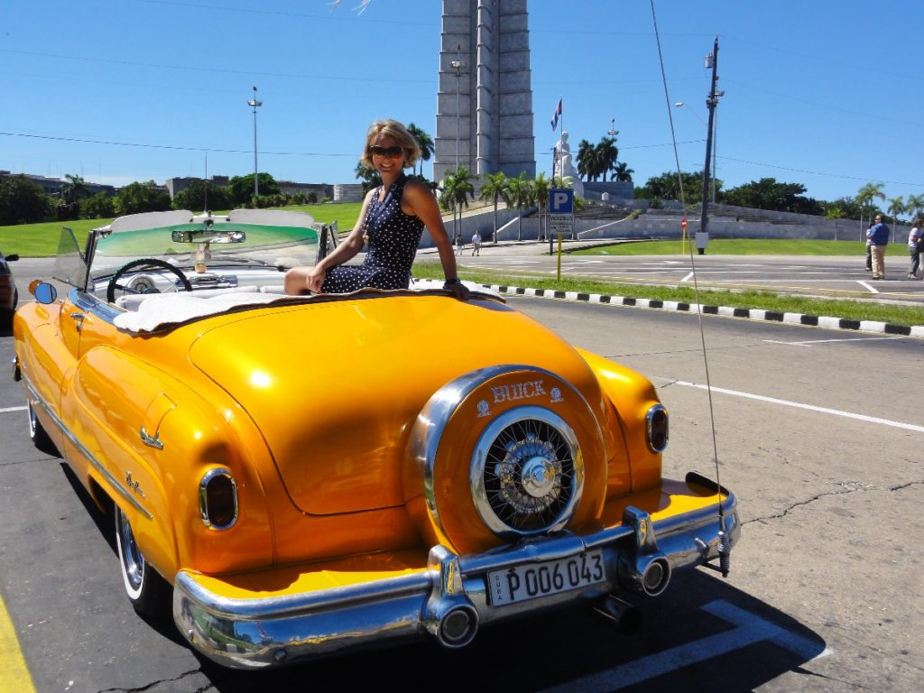 Oldie Cabrio in Havanna