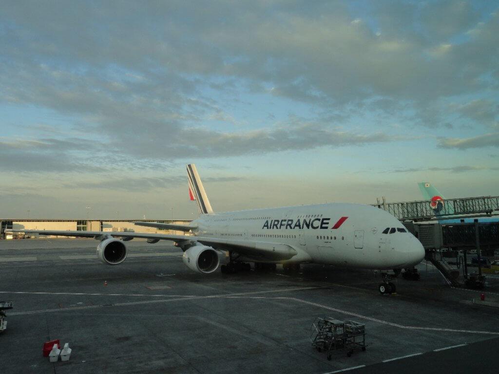 Flugzeug - Reisepause