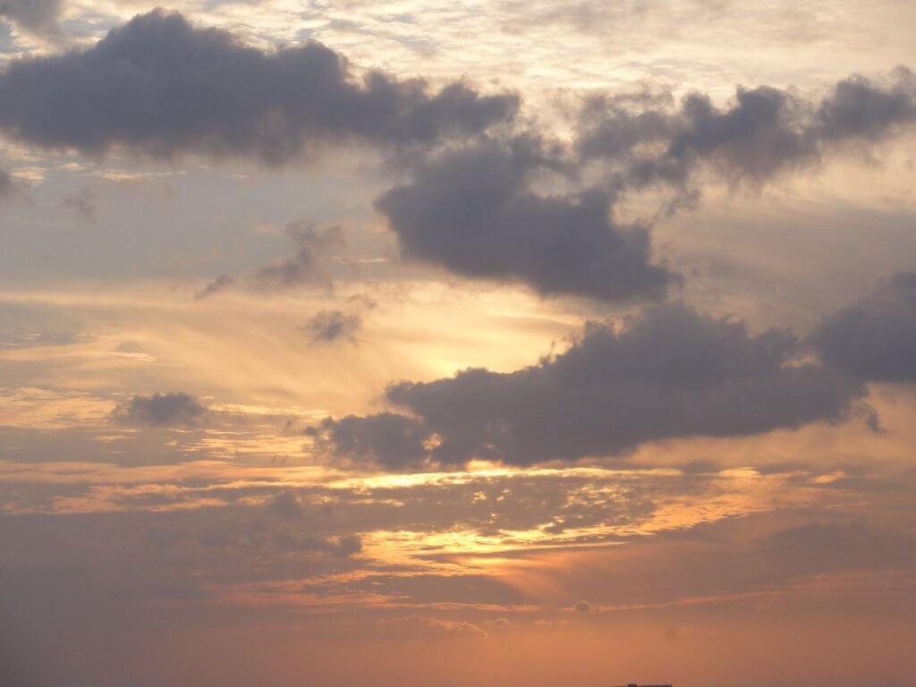Wolken - Reisepuase