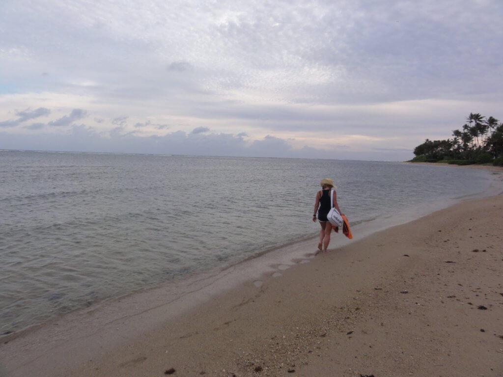 Reisepause am Strand