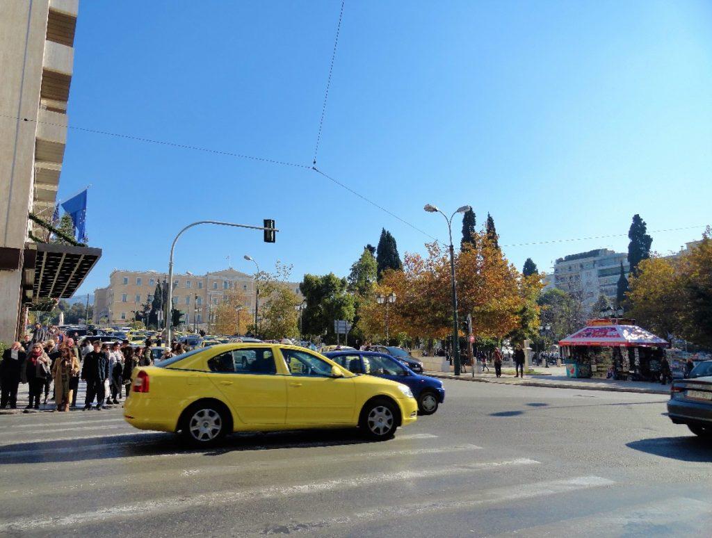 Straßenszene Athen