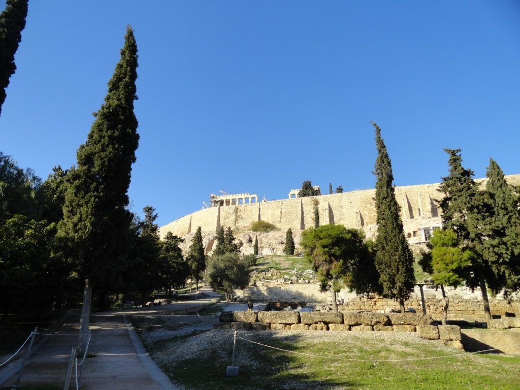 Akropolis 2 Tage Athen im Winter
