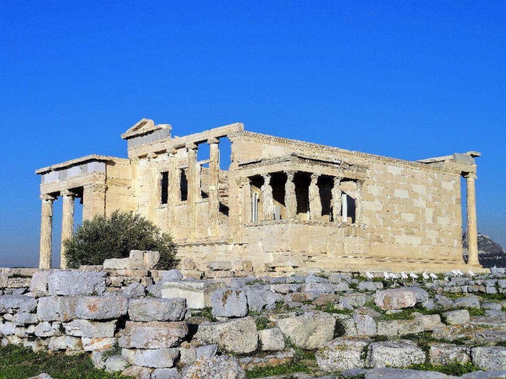 Tempel Akropolis