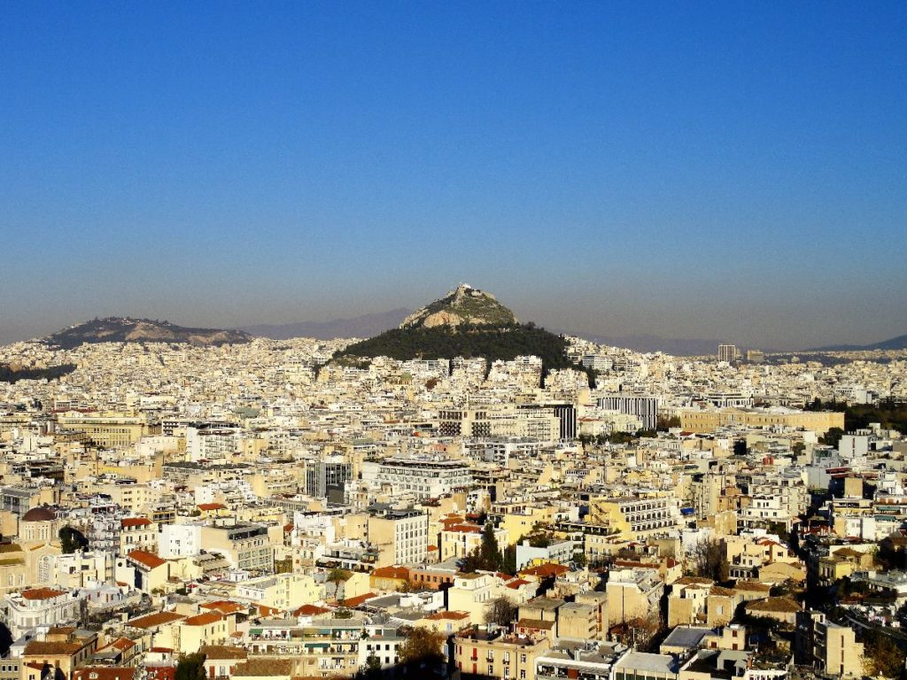Aussicht Athen